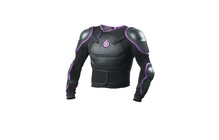 SixSixOne Comp Pressure Suit Youth schwarz